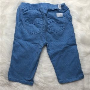 7 for All Mankind 6/9M pants blue infant baby